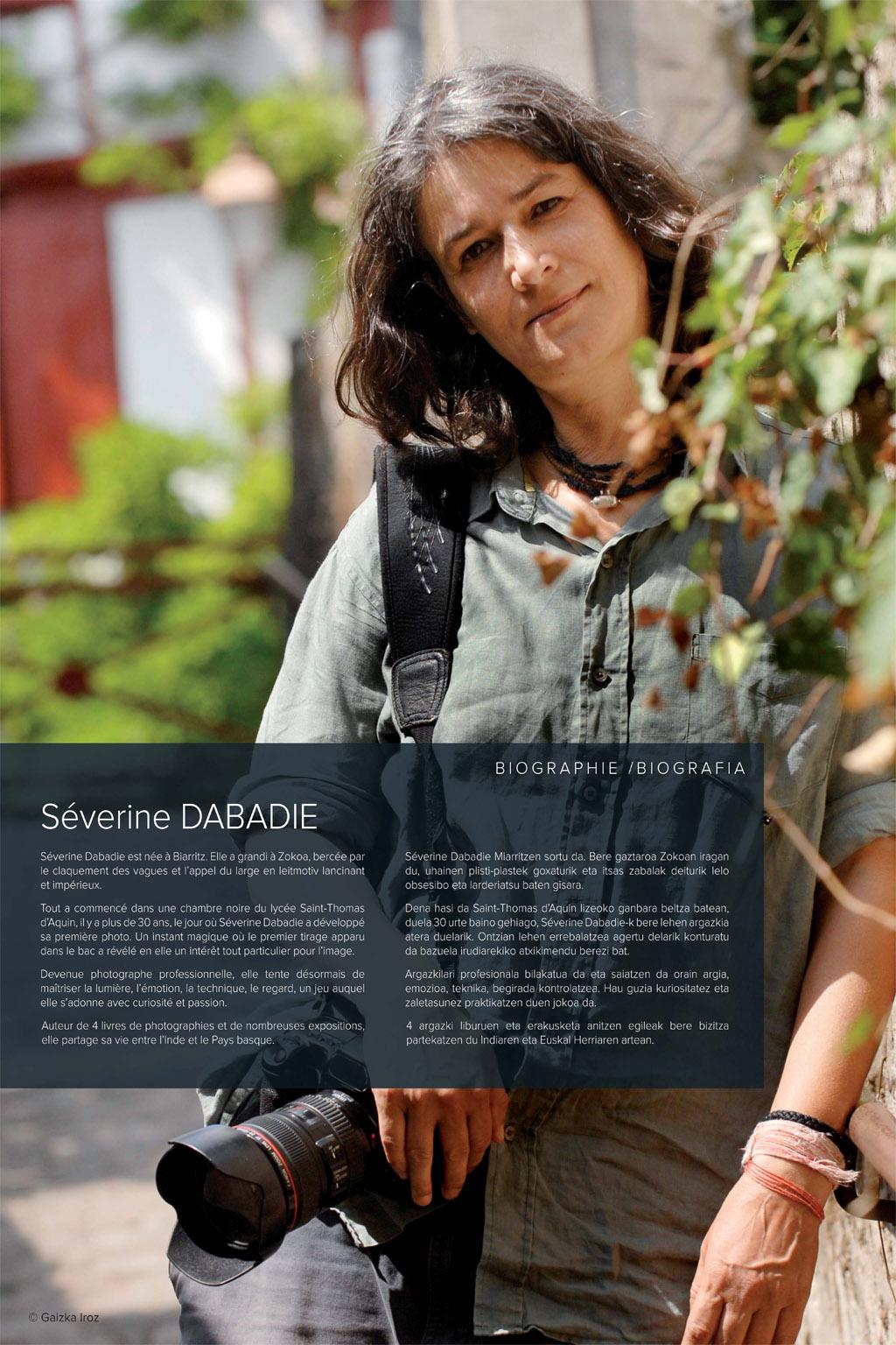 u00a9 gaizka iroz magazine du pays basque consacr u00c9  u00c0 s u00c9verine dabadie